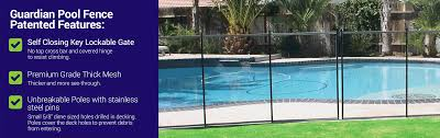 Guardian Pool Fence 1 Safety Pool Fence For Kids Pets