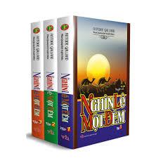 Sách - Nghìn lẻ một đêm (Trọn bộ 3 tập)