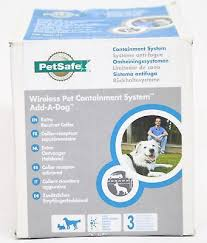 Electronic Fences 116388 Petsafe Wireless Pet Containment System Add A Dog Extra Receiver Collar Buy It Now Only Pet Containment Systems System Container