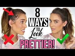 8 ways to instantly look prettier