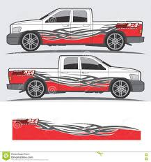 Truck And Vehicle Decal Graphic Design Stock Vector Illustration Of Speed Design 74351742