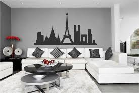 Ik2379 Wall Decal Sticker Paris France City Hall Bedroom Panorama Attr Stickersforlife