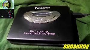 Panasonic RQ X11 walkman stereo ...