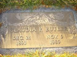 Claudia Priscilla Butler (1893-1989) - Find A Grave Memorial