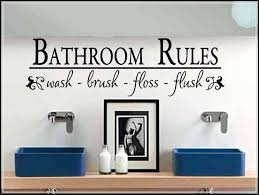 bathroom wall decals and decoration