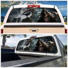 Unique Car Truck Suv Rear Window Graphic Decal Tint Cemetery Sticker 22 X 65 For Sale Online Ebay