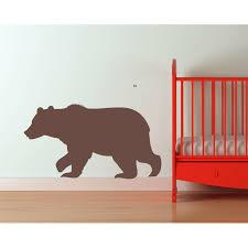 Zoomie Kids Haycraft Bear Wall Decal Wayfair