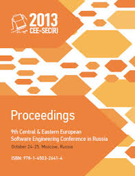 DPMine/P   Proceedings of the 9th Central & Eastern European Software  Engineering Conference in Russia