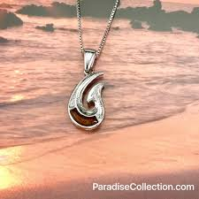 sterling silver hawaiian koa wood 2