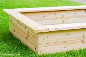 how to make a garden box