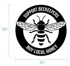 Vinyl Window Decal Blue Sky Bee Supply