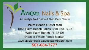 book services at avalon nails spa