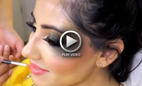 how to do bridal makeup at home step by