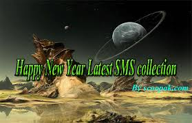 happy new year sms in english scoopak