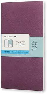 moleskine chapters journal slim large
