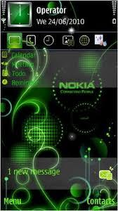 nokia c6 01 3d menu style nokia theme