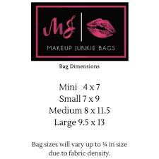 makeup junkie scarlett makeup bag