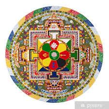 Tibetan Mandala Sticker Pixers We Live To Change