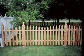 French Gothic Wood Picket Fences Wood Picket Fence Wood Fence Fence Pickets