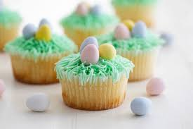 easter cupcakes decorated lemon