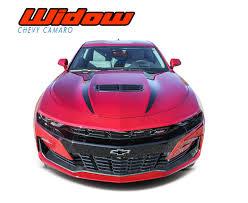 Widow 2019 Camaro Spider Hood Decals Camaro Hood Stripes Vinyl Graphics