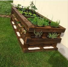 paletten diy hochbeet raised garden