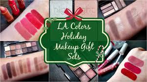 la colors holiday makeup sets 2016