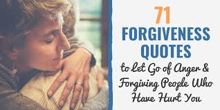 forgiveness quotes for letting go of your anger