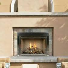 outdoor radiant vent free fireplace