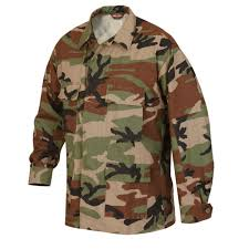 woodland camo bdu uniform men s mil