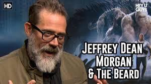Jeffrey Dean Morgan on THAT Beard - YouTube