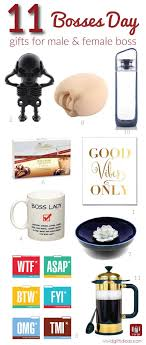 11 fun gift ideas to celebrate bosses day