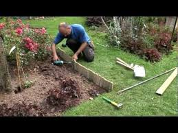 how to install log roll edging you