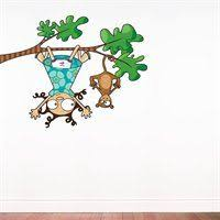 L5204 Ajv5 Ludo Lou And Kiki Wall Decal Wall Decals Primitive Wall Decor
