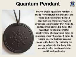 scalar energy and quantum pendants