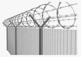 Fence Transparent Background Barbed Wire Png Png Download Kindpng