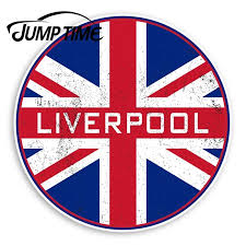 Jump Time Liverpool England Vinyl Stickers Uk Flag Sticker Luggagewaterproof Car Decal Trunk Car Accessories Car Stickers Aliexpress