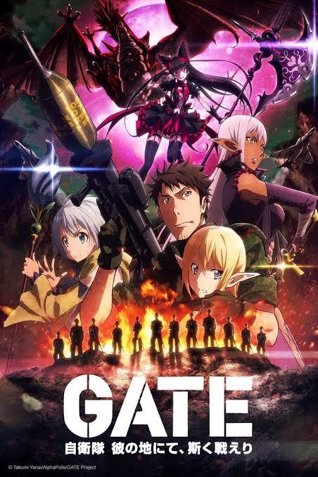 Gate: Jieitai kanochi nite kaku tatakaeri (Sub Español)[720p][HD][BD] 24/24 Mega