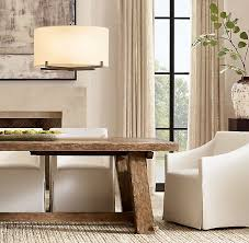 rectangular extension dining table
