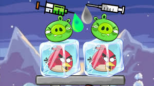 Unfreeze Angry Birds - RESCUE THE FROZEN BIRDS BY DROPPING COLOR ...