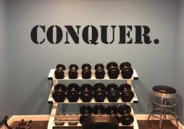 Hockey Locker Room Decor Gym Wall Decal Sports Quote Wall Decal