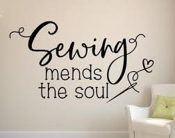 Sewing Room Decor Sewing Wall Decal Quilting Wall Decal Craft Room Decor Beautiful Things Come Together One Stitch At A Time In 2020 Sewing Room Decor Wall Decals Craft Room Decor
