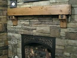 rustic fireplace mantels ideas mantel
