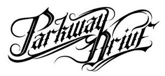 Parkway Drive Vinyl Sticker Decal Logo 200mm W Hardcore Heavy Metal Metalcore Home Garden Decor Decals Stickers Vinyl Art