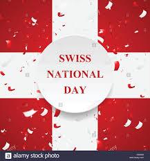 La festa nazionale svizzera, Schweizer Bundesfeier, 1 agosto con ...