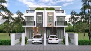 duplex house design with 3 bedrooms