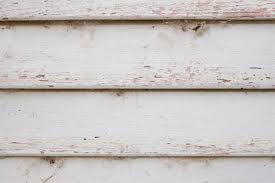 Close Photo Of A Wooden Weatherboard White Wood Panels Background