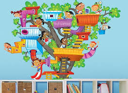 Tree House Wall Decal Set