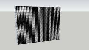 Chainlink Fence With Slats 3d Warehouse