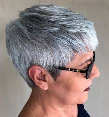 65 Gorgeous Gray Hair Styles With Images Fryzury